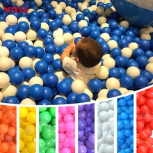 MTELE Brand Ocean Ball Pit Ball Pool BOBO Ball 100 PCS/LOT Pure Color One Colour Eco-Friendly High Quality with CE Certification