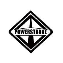 New Style Product International Power Stroke Interesting Car Styling Sticker Super Duty Decor Decal Jdm