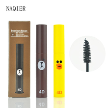 Fashion Cute 4D Fiber Mascara Long Black Lash eyelashes Extension Waterproof Eye Makeup Lovely Mascara makeup eye rimel mascara