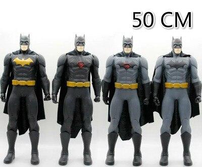50cm Batman Wars Superhero Dark Knight  Large Batman Model PVC Action Figure 4 Style Toys Kids Gifts<br><br>Aliexpress