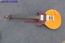New brand electric guitar with double cutway