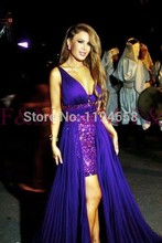 Unique Design Amazing Inexpensive Hot Selling Sweetheart A Line Purple Removable Train Luxury Sexy 2016 Prom Dresses