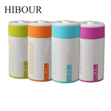 HIBOUR Film Self Stirring Mugs Bottle with Portable Automatic Protein Powder Shaker Blender Liquid Coffee Mixer Canecas Cups(China)
