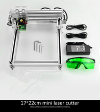 DIY laser engraving machine cutting plotter powerful version 2500mw small micro mini engraving machine carved chapter(China)
