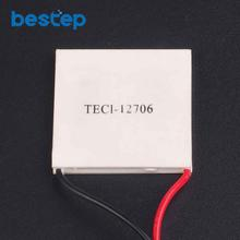 5PCS TEC1-12706 12706 TEC Thermoelectric Cooler Peltier 12V New of semiconductor refrigeration TEC1-12706 FREE shipping