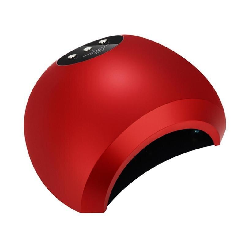1set Nail Art Phototherapy Machine 48w Intelligent Induction Light LED Phototherapy Baking Lamp Dryer Light Therapy Machine<br>