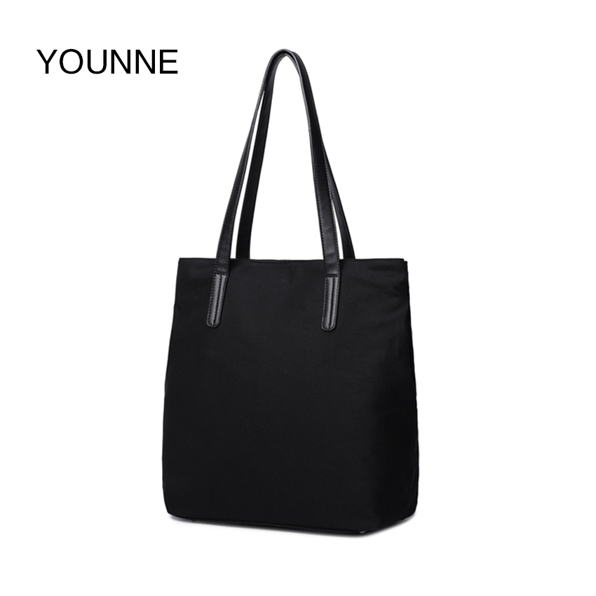 YOUNNE Women Bags Solid Color Shoulder Waterproof Oxford Handbags Dumplings Female Travel Tote Folding Bag Tote Paris Bag<br>
