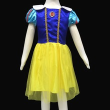 Snow White Baby Girls Dress Children Clothing Princess Dresses Kids Clothes Party Birthday Costume robe fille enfant vestido