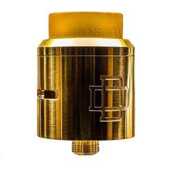 Бачок-распылитель вейпа Augvape, двойная катушка, покрытие 24К золотом