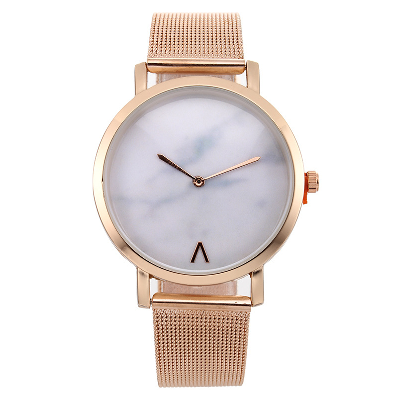 hot fashion womens watches creative marble pattern dial quartz wrist watches free shipping (3)
