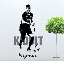Neymar Wall Decal Football Player Barcelona Vinyl Sticker Decor Mural