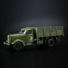 Musical and Flashing car toys 1:36 Military Transportation truck model alloy Pull Back car toys best gift(China)