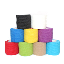 "2"" Athletic Tape Bulk Sports Stretch Power Wrap, Self Adherent Wrap Flex Tape, Self Adhering Stick Bandage, Self Grip Roll.(China)"