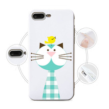 1 PC Cellphone Case Fashion Rubber Shell Protective Shell Creative(China)