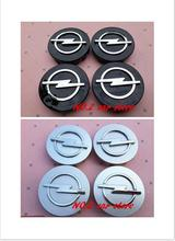 4pcs Free shipping 59mm Opel Astra Mokka Insignia Zafira Corsa Tigra car emblem Wheel Center Hub Cap Auto Wheel badge cover