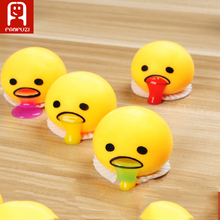 Novelty Magic Egg Tricky Toy Gudetama antistress  For Kid or adult Gift Gadget slime Fun Toys Egg Practical slime Vomiting Egg C