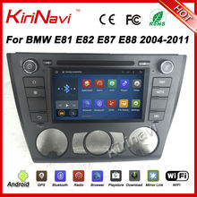 KiriNavi Android 7.1 For BMW 1 Series E81 E82 E87 E88 2004-2012 android Car radio (Fit on Manual Air conditioner Model only)