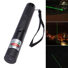 8000-10000 Meters Powerful Green Laser Pointer stars Pen With Star Cap flashlight included Batteries Light a match Hunting laser