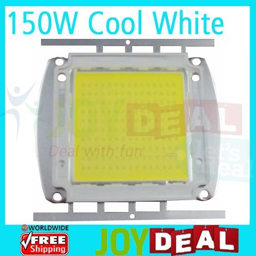 150W Epistar High Power LED Lamp Light 15000LM 4.5A DC32-36V Cool White Color 9000-10000K<br>