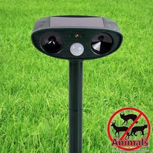 High Quality Outdoor Garden ltrasonic Solar Power Eco-friendly Ultrasonic Repeller Motion Pest Animal Mice Rat Mouse Fox Control(China)