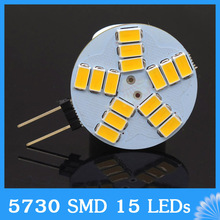 High Power g4 AC DC 12V led Lamp 5W 5730SMD Replace Halogen Lamp 180 Beam Angle LED Bulb lamps(China)