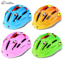 New Kids Bike Bicycle Helmet Cartoon Road Cycling Helmet MTB EPS Children's Bike Helmet Safety bicycle Helmet Child Equipment