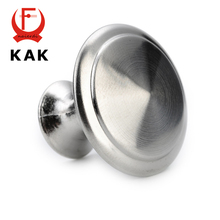 20PCS KAK Zinc Alloy Handles Satin Nickel Cabinet Pull Cupboard Drawer Knobs Wardrobe Handle With Screw Furniture Hardware