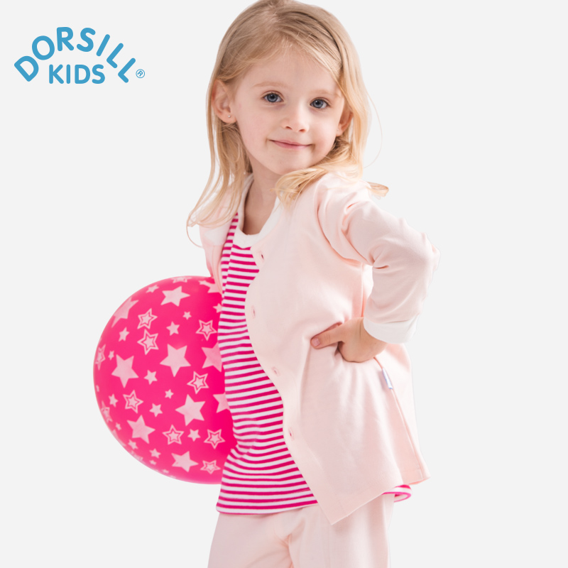 Childrens Clothing Sets Dorsill 2017 New Fashion Print Full Single Breasted Baby Girl Sets 100% Cotton Baby Boy Suit Sets<br><br>Aliexpress