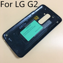 iSIU Replacement For LG G2 D802 Back Cover Case Mobile Phone G2 Battery Door Housing Rear Case Black With NFC Antenna Repair(China)