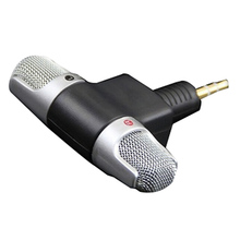 Top Deals Mini Professional Recorder Microphone Digital Portable Microphone for Computer (Computer/Phone black)