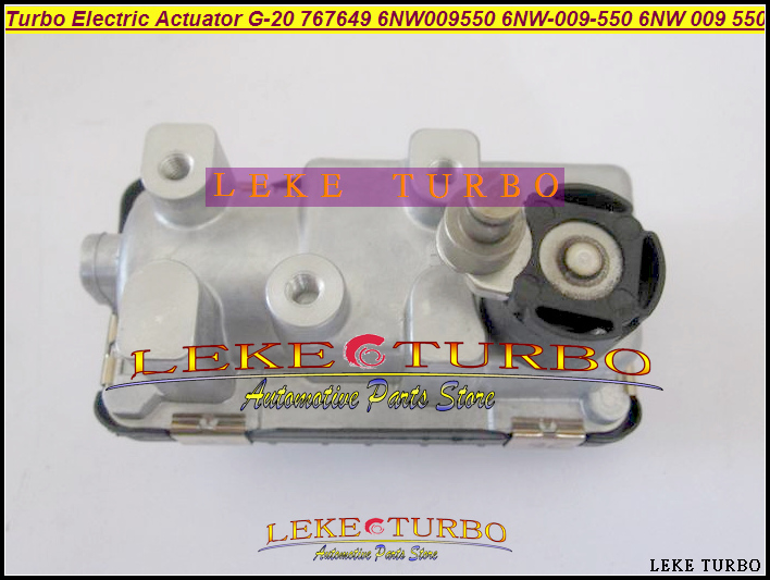Turbo Electric Actuator G-20 G-020 G20 767649 6NW009550 6NW-009-550 6NW 009 550 (5)