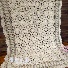 Best selling elegant White  flower table cloth 100% cotton lace cutout sofa cover  piano table cloth cover  door curtain