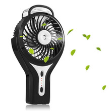 Handheld Mini USB Beauty Humidifier Misting Fan Water Spray Fan Rechargeable Portable Personal Cooling Mist Humidifier Fan