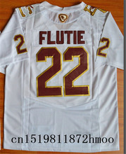 Free shipping 2017-2018 Nike New Arrival Boston College Eagles Doug Flutie 22 Fenway Event Authentic College Sweatshirts(China)