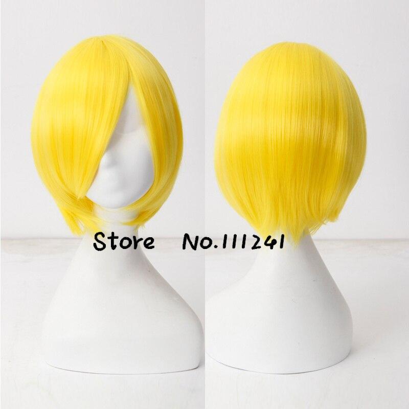 New Fashion Cool Short Bob Lovely Full Bangs Smart Lemon Yellow Heat Resistant Hair High Quality Lolita Wig<br><br>Aliexpress