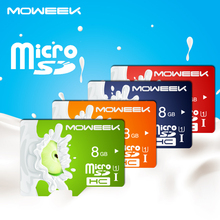 MOWEEK 2016 fashion Fruit Series Micro SD Card 8/16//32/64/128 GB class 10 Memory card TF card for smartphone/TA(China)