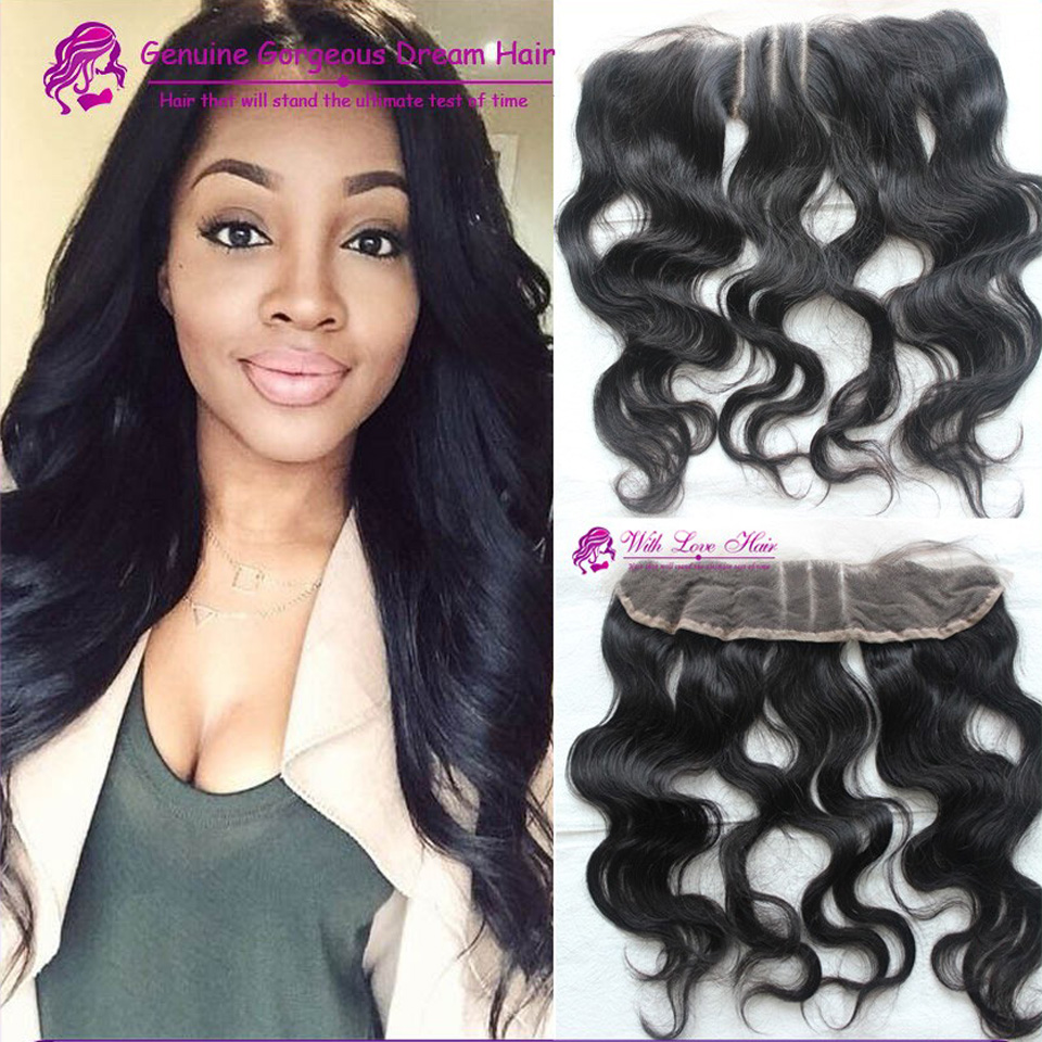 7A Grade Virgin Peruvian Lace Frontal closure Bleached Knots Virgin Frontal cheap Body Wave Full Lace Frontal ear to ear<br><br>Aliexpress