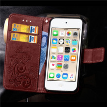 Funda Cover Book Case for Apple iPod Touch 5 6 Touch5 Touch6 Leather Cover Luxry Flip Capa Telephone Mobile Accessorie capa cas(China)