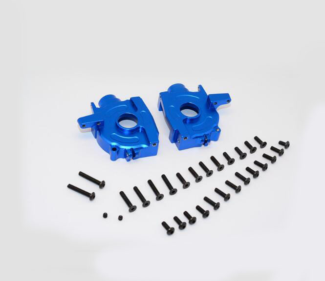 GPM spare parts Aluminium alloy front Gearbox Gear Hydraulic transmission box housing FOR AXIAL YETI AX90026 1/10 RC Car YT012<br><br>Aliexpress