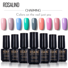 ROSALIND 7ml Gel Nail Polish Motion Art Nail Gel Polish UV LED Primer Semi Varnish Gel for Nails Stamping Sexy Lady
