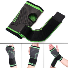 MAYITR Wrist Support Nylon Sport Elastic Palm Wrap Hand Brace Sleeve Band Protector For Weight Lifting Gym Fitness Body Building