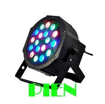 18x3w LED Stage light  RGB Par projector With DMX512 Master Slave Laser DJ Equipments luzes para festa 110V-240V Free shipping<br><br>Aliexpress