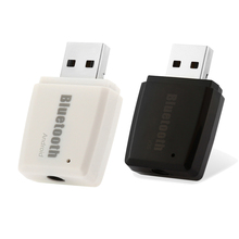 Mini USB Bluetooth Adapter V4.1+EDR Music Audio Receiver 3.5mm A2DP Stereo Adapter USB Bluetooth Adapters/Dongles