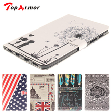 Buy TopArmor Brand Samsung Galaxy Tab S2 8.0 T710 T715 Tablet Soft TPU + PU Leather Skin Stand Card Holder Protector Cover for $10.91 in AliExpress store