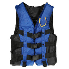 1PCS Size XL Durable Adult Life Jacket Universal Swimming Boating Ski Drifting Safety Vest With Whistle Prevention Plus 3Colors(China)