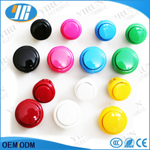 50 pcs BL 24mm 30mm Arcade Button copy Sanwa Push Button with Microswitch for DIY Arcade Cabinet accessories