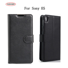 Buy HUDOSSEN Sony Xperia E5 Phone Cases Fundas Magnetic Stand Wallet Flip PU Leather Case Covers Card Holder Sony E5 for $3.89 in AliExpress store