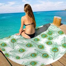 Mandala Round Tapestry Cotton Printing Beach Towel Shawl Tapestry Wall Hanging Bed Sheet Yoga Mat