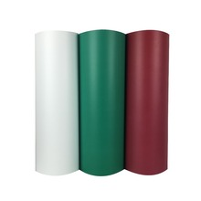 New 5rolls Flocking Heat Transfer Vinyl Cut By Cutting Plotter Transfer DIY T-shirt(China)