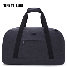 TINYAT New Male Men Travelling bag 40L Travel Luggage bag Nylon Large Capacity Handbags Casual bag Shoulder Duffle Bag Gray T307(China)